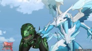 Sairus and Trox fight together