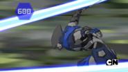 Fade Ninja defeats Bakuzon Cloptor