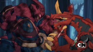 Drago vs. Bakuzon Cyndeous