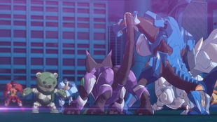 Awesome Brawlers Bakugan vs. Cubbo and Boxer