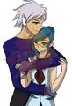 Lena and Grey UWU