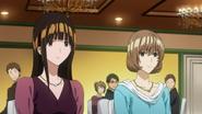 Miho i Aoki na ślubie