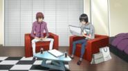 Kosugi sprawdza imie