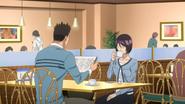 Iwase na spotkaniu z Hattorim