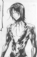 Satoru używający mocy demona