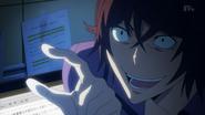 Toru chce by Kosugi ukradł manuskrypt