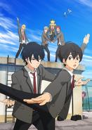 Bakuten Anime Key Visual 1