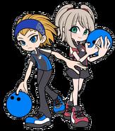BW 2D art Bowling