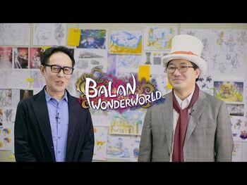 Yuji_Naka_and_Naoto_Ohshima_present_BALAN_WONDERWORLD_(Closed_Captions)