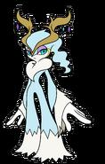 BW art 2D Frost Fairy