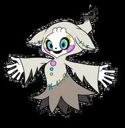 BW art 2D Merry Ghost