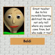 Baldi Poster