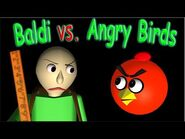 BALDI's Basic Field Trip with ANGRY BIRDS – A scary 3d animation ☺ FunVideoTV - Style ;-))