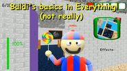 Baldi's basics in Everything! (not really) - Baldi's Basics 1.4