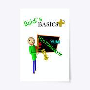 "Baldi's Basics Plus Poster 24"" x 36"""