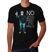 No Wearing Baldi Mens T-Shirt Limited