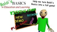 Baldi's Basics in Education and Learning Kickstarter Video