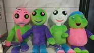Baldi's Basics Zombie Blacklight Plush 2020 Toy Fair 0-22 screenshot