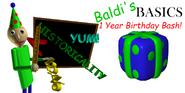 Baldi's Basics Birthday Bash Banner