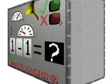 Baldi's Math Machine