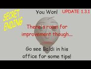 Secret Ending (Wrong answers only! ) - Baldi's Basics in Education and Learning v1.3