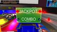 Jackpot and Combo sign