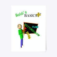 "Baldi's Basics Plus Poster 18"" x 24"""