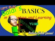 Baldi's Basics In Education and Learning - Nothing is what it seems!
