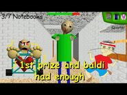 1st prize and baldi had enough (Baldi's Basics Mod)