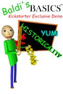 Baldi's Basics Kickstarter Exclusive Demo Cover