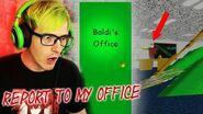 BALDI SENT US TO HIS OFFICE?! Baldis Basics In Education And Learning (Alternate Ending Secret)