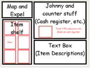 Johnny's Store concept