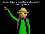 Baldi's Basics - Field Trip demo: Camping