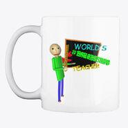 World's Best Teacher Mug Front