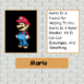 Mario's page in detention