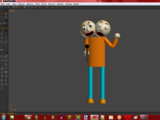 2 Head Guy (Baldi's Basics in Special Things 100)