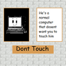 DONTTOUCH poster