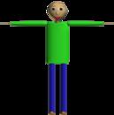 Baldi T-Pose