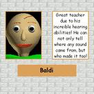 Baldi's page in detention