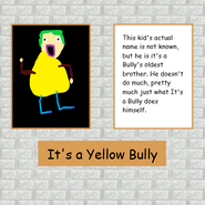 Yellow Bully Poster