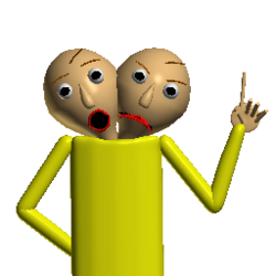 Two-headed baldi