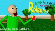 Baldi's full game basics demo