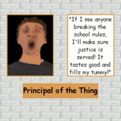 Principal's Page In Detention