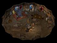 Tazok's Tent interior