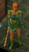 BGEE Priestess of Umberlee red hair NPC