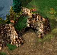 Dryad Falls Cave Exterior BGEE