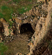 Xvart Village Cave Exterior BGEE