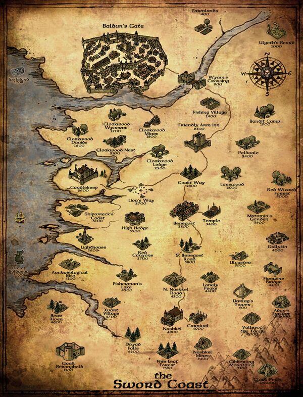 BGEE World Map