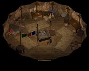 Bandit Camp Tent interior