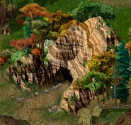 Bandit Camp Cave Exterior BGEE